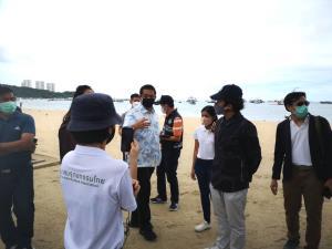 'สนธยา' นำทีมร่วมปรับภูมิทัศน์หาดพัทยา สร้างสมดุลเศรษฐกิจ-สิ่งแวดล้อม