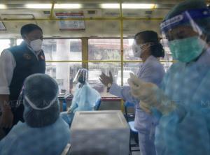 กทม.ทดลองรถฉีดวัคซีนถึงบ้าน BMV เป้าหมายระยะแรก ผู้สูงอายุ-ผู้ป่วย 7 กลุ่มโรค-ผู้พิการ ปูพรม 10 ก.ย.นี้