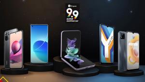Shopee แนะนำ 5 สมาร์ทโฟนสุดฮอตในเทศกาล 9.9 Super Shopping Day
