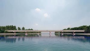 เสร็จปี 65! สะพานข้ามคลองดู จ.สตูล เชื่อมเกาะสู่แผ่นดินใหญ่สะดวก