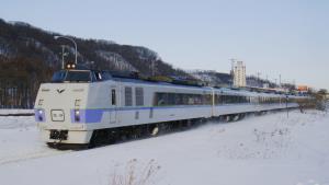 รถไฟมือ 2 รุ่น KiHa 183 ที่ญี่ปุ่นบริจาคให้ไทย 17 คัน (ภาพจาก : locomotive.fandom.com)