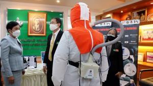 มข.โอ่ผลวิจัยเด่นสู้โควิด-19 แบตเตอรี่ชุดพีเอพีอาร์-สเปรย์ฆ่าเชื้อ ชูต้นทุนต่ำเล็งต่อยอดเชิงธุรกิจ