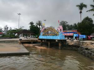 กระทรวงการท่องเที่ยวและกีฬาหนุนสร้างสะพานเชื่อมเกาะคอเขา บ้านน้ำเค็ม อ.ตะกั่วป่า