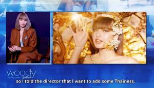 """""""ลิซ่า"""" เผยเบื้องหลังความปัง ถ่ายMVอยู่ 4 วัน เน้นตัวตนความเป็นคนไทย"""