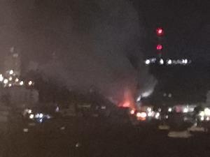 เกิดเหตุเพลิงไหม้ย่านวอล์กกิ้งสตรีท พัทยาใต้