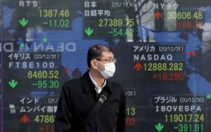 ตลาดหุ้นเอเชียปรับลบหลังดาวโจนส์ร่วงต่อเนื่อง หวั่นเฟดลด QE เร็วกว่าคาดหลังเงินเฟ้อพุ่ง