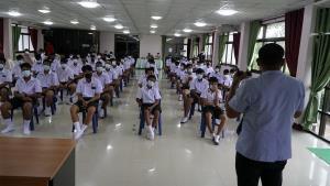 โรงเรียนค่ายบกหวานวิทยา หนองคายรุดเข้ามาตรการแซนด์บ็อกซ์ฯ สกัดโควิด-19 ระบาด