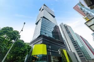อาคารพาณิชย์ W50 ของ Wong Chuk Hang ซึ่งมีมูลค่ากว่า 12.8 ล้านเหรียญสหรัฐในปัจจุบัน