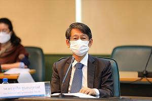 รศ. ดร.สุจริต คูณธนกุลวงศ์ ประธานแผนงานวิจัยเข็มมุ่งด้านการบริหารจัดการน้ำฯ