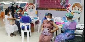 """จันทบุรี  ชวนหญิงตั้งครรภ์เข้ารับการฉีดวัคซีนโควิด-19ในโครงการ """"1เดือน 1 แสนราย"""""""
