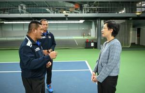 """เอกอัครราชทูตให้กำลังใจนักเทนนิสไทย ทำศึกเดวิสคัพ ฉลองความสัมพันธ์ """"ไทย-เดนมาร์ก"""" 400 ปี"""
