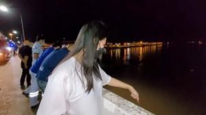 สยอง! สาวปริศนากระโดดสะพานแม่น้ำมูลหายต่อหน้าพลเมืองดี