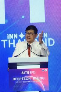 """""""เอนก"""" ชี้ไทยก้าวสู่ประเทศนวัตกรรม จัดงานสตาร์ทอัพอินโนเวชั่นไทยแลนด์ เอ็กซ์โป 2021"""