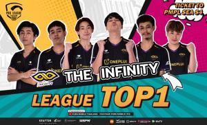 The Infinity หวดแชมป์ส่งท้าย PMPL Thailand S4 พบกันรอบชิงฯ 24-26 ก.ย.นี้