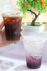 Cold Brew Americano Yuzu และ Kyoho Grape Yuzu Soda