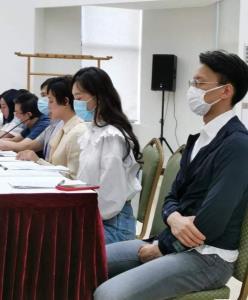 """""""ซุนลี่"""" และดาราหลายคนเข้าคอร์สปรับทัศนคติเพื่อความปลอดภัยในวงการบันเทิงจีน"""