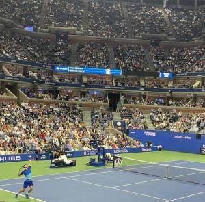 """แฟนเทนนิสตัวยง! """"พญ.พักตร์พิไล ทวีสิน"""" จึงต้องบินไปชมติดขอบสนาม US Open"""
