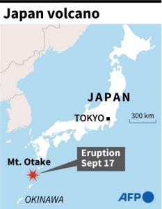 ญี่ปุ่นเตือนภัยระดับ 3 'ภูเขาไฟโอตาเกะ' ใน จ.คาโงชิมะ หลังปะทุเมื่อช่วงกลางดึก