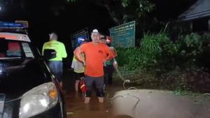 น้ำป่าทะลักลงห้วยน้ำหมานเอ่อท่วมบ้านกว่า 100 หลัง @หมู่บ้านกกทอง เมืองเลย