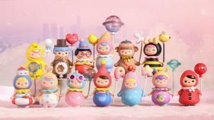 ตุ๊กตาของ POP MART ในแบบต่างๆ ที่กำลังดังและปังที่สุดในหมู่วัยรุ่นจีนขณะนี้ (ภาพ POP MART)