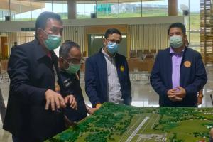 ผู้ตรวจราชการกระทรวงมหาดไทย ลงติดตามผลการดำเนินงานตามนโยบายของรัฐบาลที่เบตง
