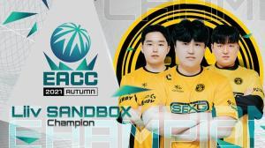 Liiv SANDBOX ดับฝันทีมไทย คว้าแชมป์ EACC AUTUMN 2021