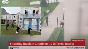 """ระทึก! มือปืนวัยรุ่นหมีขาวบุกเดี่ยว """"กราดยิง"""" ในมหาวิทยาลัยรัสเซียเขตไซบีเรีย ดับไม่ต่ำกว่า 6  บาดเจ็บอีกหลายสิบ มีนักศึกษาร่วม3พันอยู่ด้านใน"""
