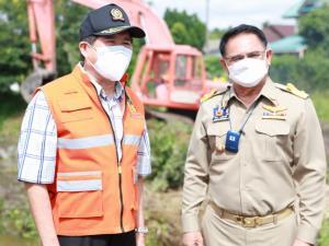 รมช.มหาดไทยสั่งการระดมกำลังขุดลอกคลองเตรียมรับฤดูมรสุม