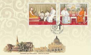 ไปรษณีย์ไทย เปิดตัวแสตมป์ชุดศาสนิกสัมพันธ์ พุทธ – คริสต์ เชื่อมสายสัมพันธ์แห่งศรัทธาของ 2 ศาสนา