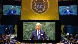 ไบเดน กล่าวเวทีสหประชาชาติว่า สหรัฐฯไม่ต้องการสงครามเย็นครั้งใหม่