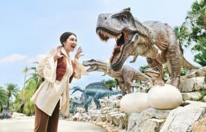 """""""เบลล่า ราณี""""  ชวนเที่ยว """"หุบเขาไดโนเสาร์"""" มาพัทยาวันธรรมดาก็สนุกได้"""