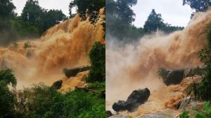 ประกาศ! แจ้งเตือนประชาชน เหตุน้ำป่าไหลหลากน้ำท่วมฉับพลัน ในอำเภอจอมทอง จ.เชียงใหม่