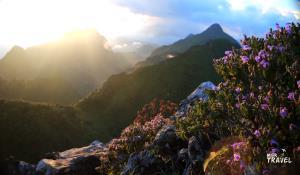 ดอยเชียงดาว เทือกเขาหินปูนที่มีความโดดเด่นสวยงามด้านทัศนียภาพวิวทิวทัศน์