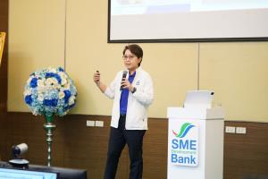SME D Bank จัดประชุมมอบนโยบายโค้งสุดท้ายของปี เดินหน้าหนุนเอสเอ็มอีต่อเนื่อง