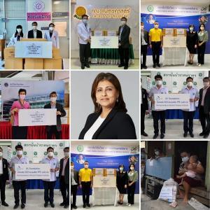 มูลนิธิไอวีแอล มอบชุด PPE 2,000 ชุด แก่โรงพยาบาล 6 แห่ง และสนับสนุนมูลนิธิอิสระชน