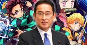 """นายกญี่ปุ่นคนใหม่เผยชอบตัวละครใดใน  """"ดาบพิฆาตอสูร"""""""