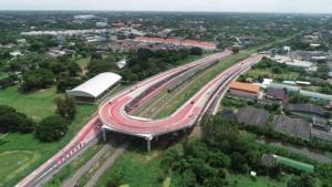 """เปิดใช้สะพานข้ามทางรถไฟจุดตัด """"นครชัยศรี"""" ทช.เผยแผนก่อสร้าง 42 แห่งทั่ว ปท.เสร็จครบในปี 65"""