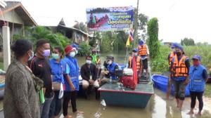 ชาวบ้านอาสาป้องกันตนเองริมน้ำมูล กระจายเรือรับมือน้ำเหนือพายุลูกใหม่