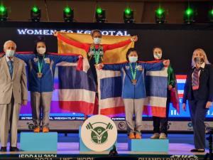 ยกเหล็กไทยแรงไม่ตก! คว้า 1 ทอง 2 เงิน 2 ทองแดง ปิดท้ายศึกยุวชนโลก