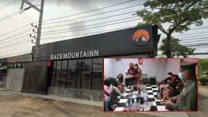 จับแล้วจับอีก ร้านหลังเขาสระบุรี 220 นักเที่ยวมั่วสุมอัปยา โนสนโนแคร์โควิด