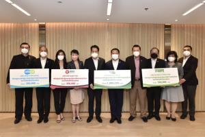 กลุ่มไทยเบฟมอบเงินสนับสนุนสถาบันการจัดการบรรจุภัณฑ์และรีไซเคิลเพื่อสิ่งแวดล้อม