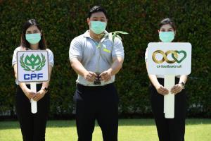 """ซีอีโอ ซีพีเอฟ นำพนักงานปลูกต้นไม้ ในกิจกรรม """"ซีพี ร้อย รักษ์โลก"""" ร่วมเพิ่มพื้นที่สีเขียว ลดโลกร้อน"""