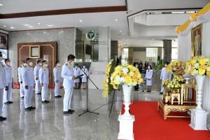 ผู้บริหาร ข้าราชการ บุคลากร สธ.วางพวงมาลาถวายราชสักการะพระบรมชนกาธิเบศร เนื่องในวันคล้ายวันสวรรคต 13 ตุลาคม