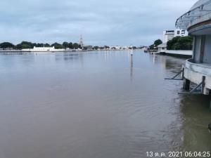 ผู้ว่าฯ กทม. เผยน้ำเหนือไหลผ่านแม่น้ำเจ้าพระยาเฉลี่ย 2,820 ลบ.ม./วินาที ต่ำกว่าคันกั้นน้ำ 1.15 เฝ้าระวังต่อเนื่อง