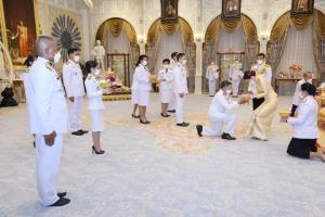 ในหลวง-พระราชินี พระราชทานพระบรมราชวโรกาสให้คณะบุคคลเฝ้าฯ