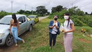 """ชาวบ้านพึ่งบารมี """"ศาลพ่อขุนราม"""" สิ่งศักดิ์สิทธิ์แห่งบ้านดงไทย สู้วิกฤตโควิด"""