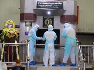 นครศรีฯ 2 วันโควิด-19 ตายพุ่ง 18 ศพ เจอติดเชื้ออีกกว่าพันราย เมรุเผาศพต้องเร่งระบายความร้อน