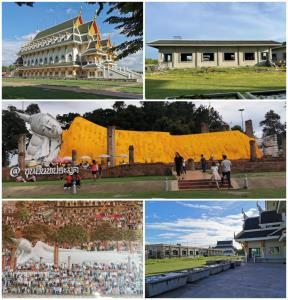 พระพุทธไสยาสน์ วัดขุนอินทประมูล พระพุทธรูปศักดิ์สิทธิ์ คู่บ้าน คู่เมือง พระครูวิเศษชัยวัฒน์ (หลวงพ่อเสวย)