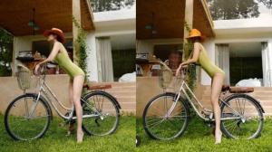 """""""เจนี่"""" อวดหุ่นแซ่บโชว์ท่าเด็ดขี่จักรยานยังไงให้ปัง!"""
