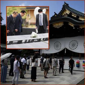 """นายกฯ ญี่ปุ่นคนใหม่ส่งเครื่องสักการะไป """"ศาลเจ้ายาสุกุนิ"""" ส่วนตัวจริงเข้า """"รง.นิวเคลียร์ฟูกุชิมะ"""""""